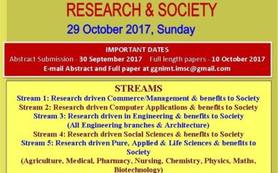 International Multi-Stream Conference on 29 October 2017