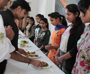 The Best Home Chef Competition organized at GGNIMT