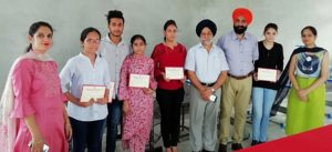 Workshop on Hand & Block Painting organized at GGNIMT