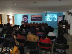 GGNIMTians Viewed & Discussed 'Pursuit of Happyness' at   Campus
